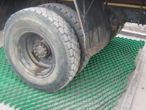 Испытание газонной решетки